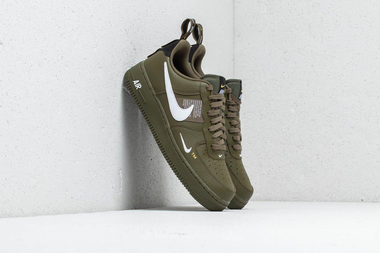 air force 1 uomo olive