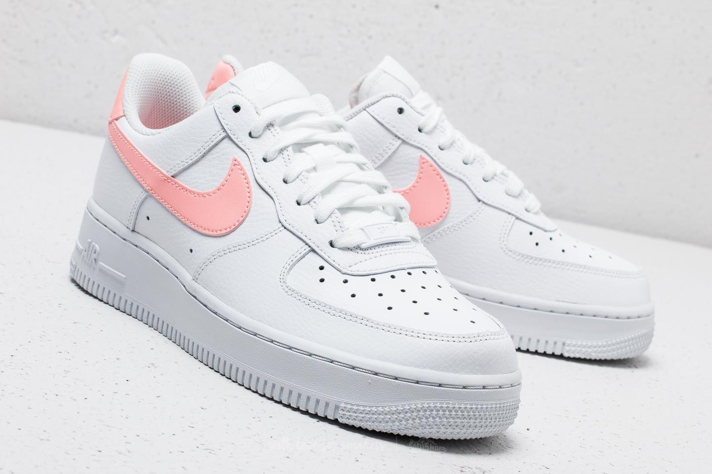 Nike Leather Wmns Air Force 1 '07 White
