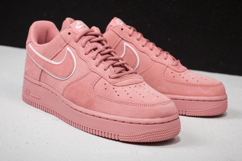 Nike Air Force 1 ́07 Lv8 Suede Red