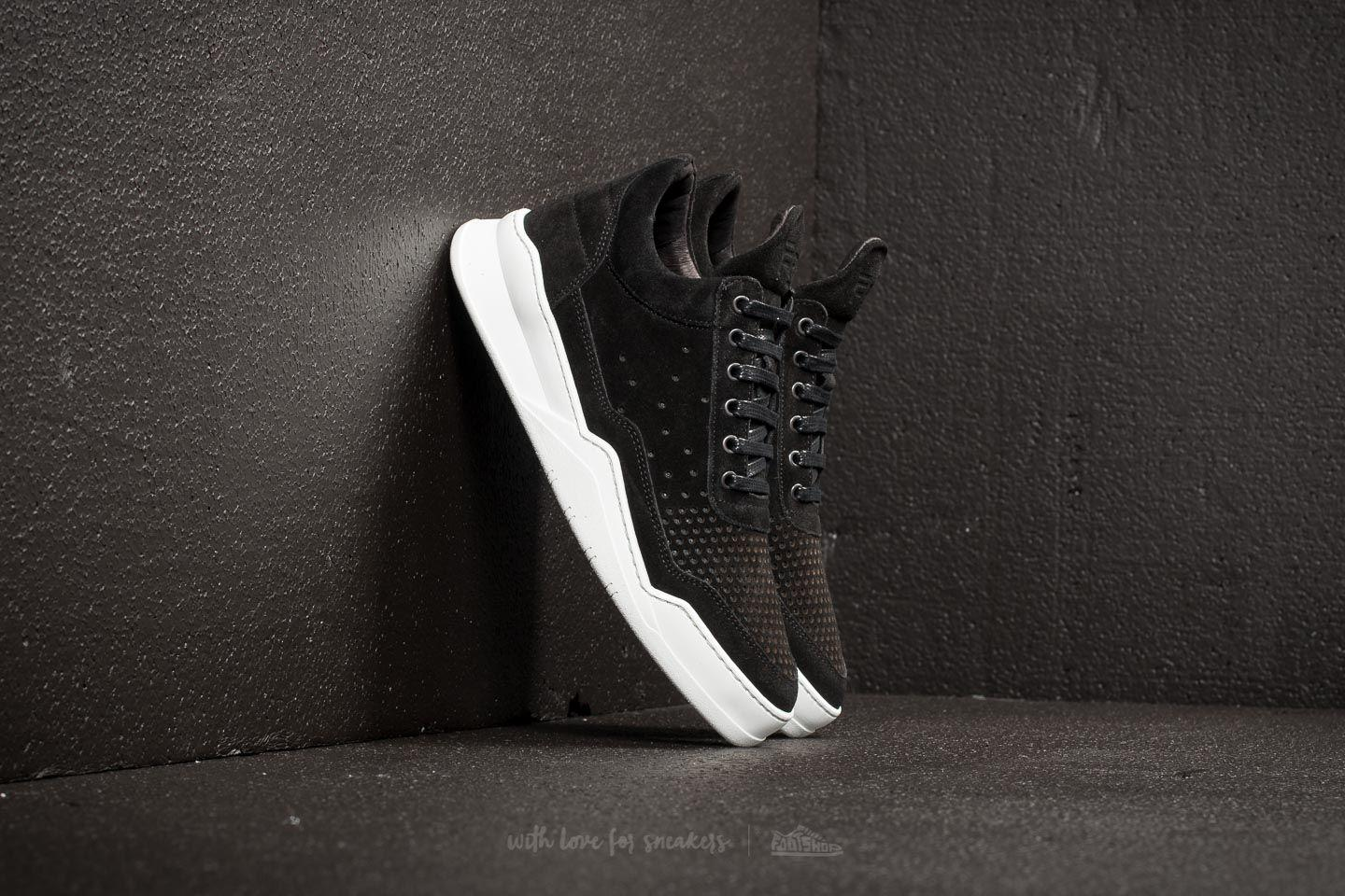 Filling Pieces Suede Low Top Ghost