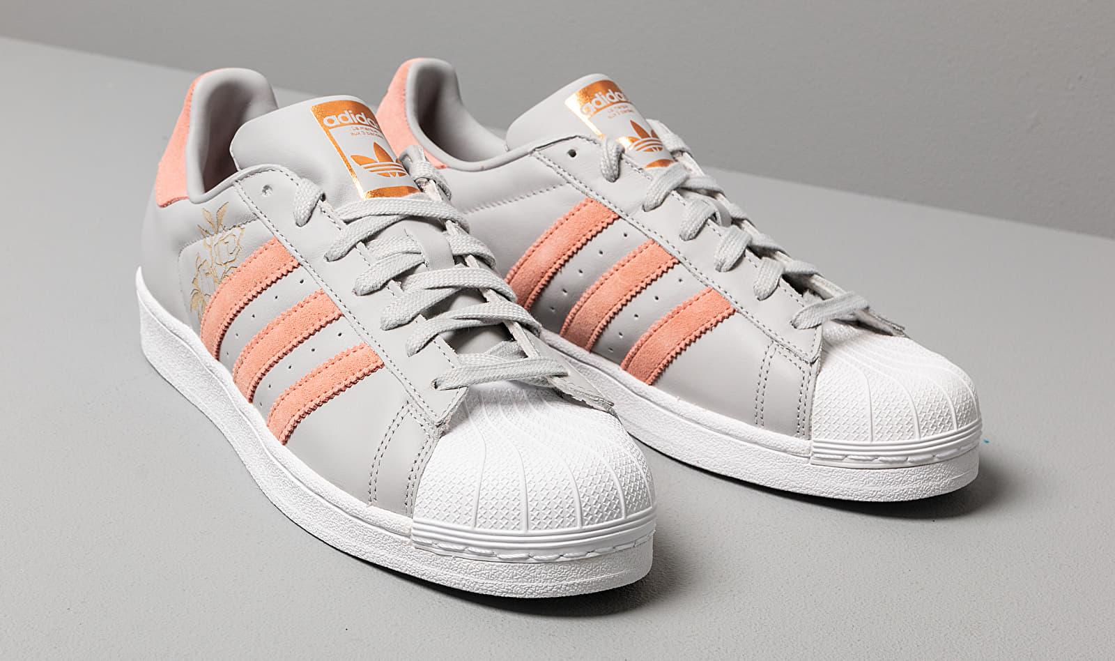 Adidas Superstar W Grey Two/ Trace Pink/ Ftw White adidas Originals en coloris Gris