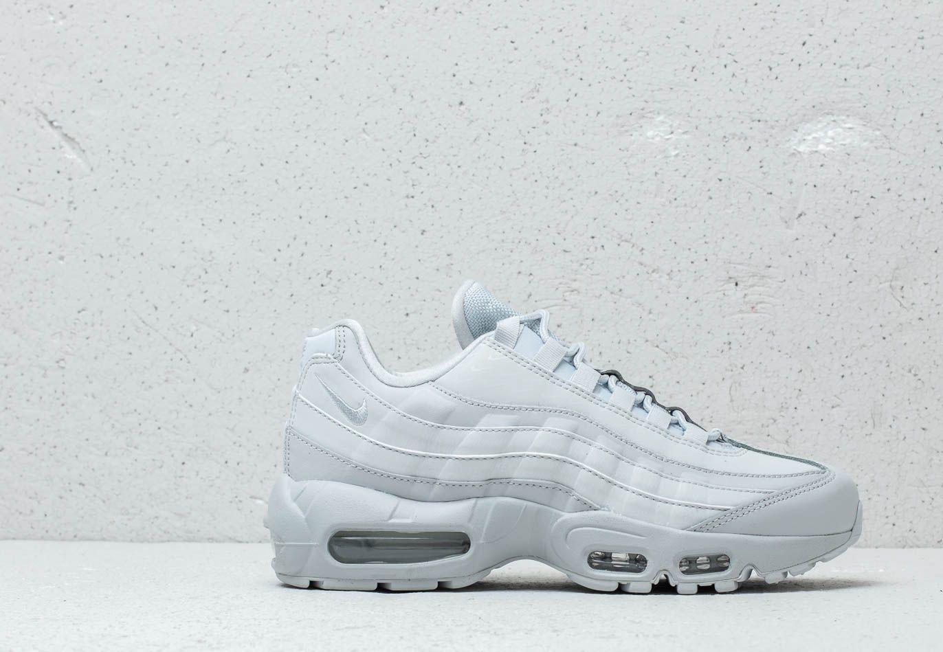 Nike Wmns Air Max 95 Lx Pure Platinum/ Pure Platinum in White