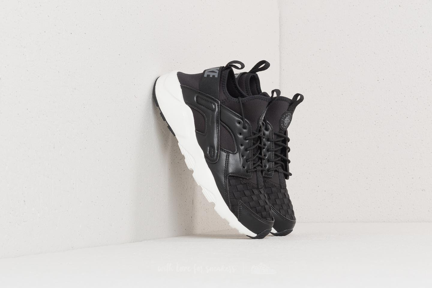 Lyst - Nike Air Huarache Run Ultra Se Black  Dark Grey  Sail-black ... b9506b7b7