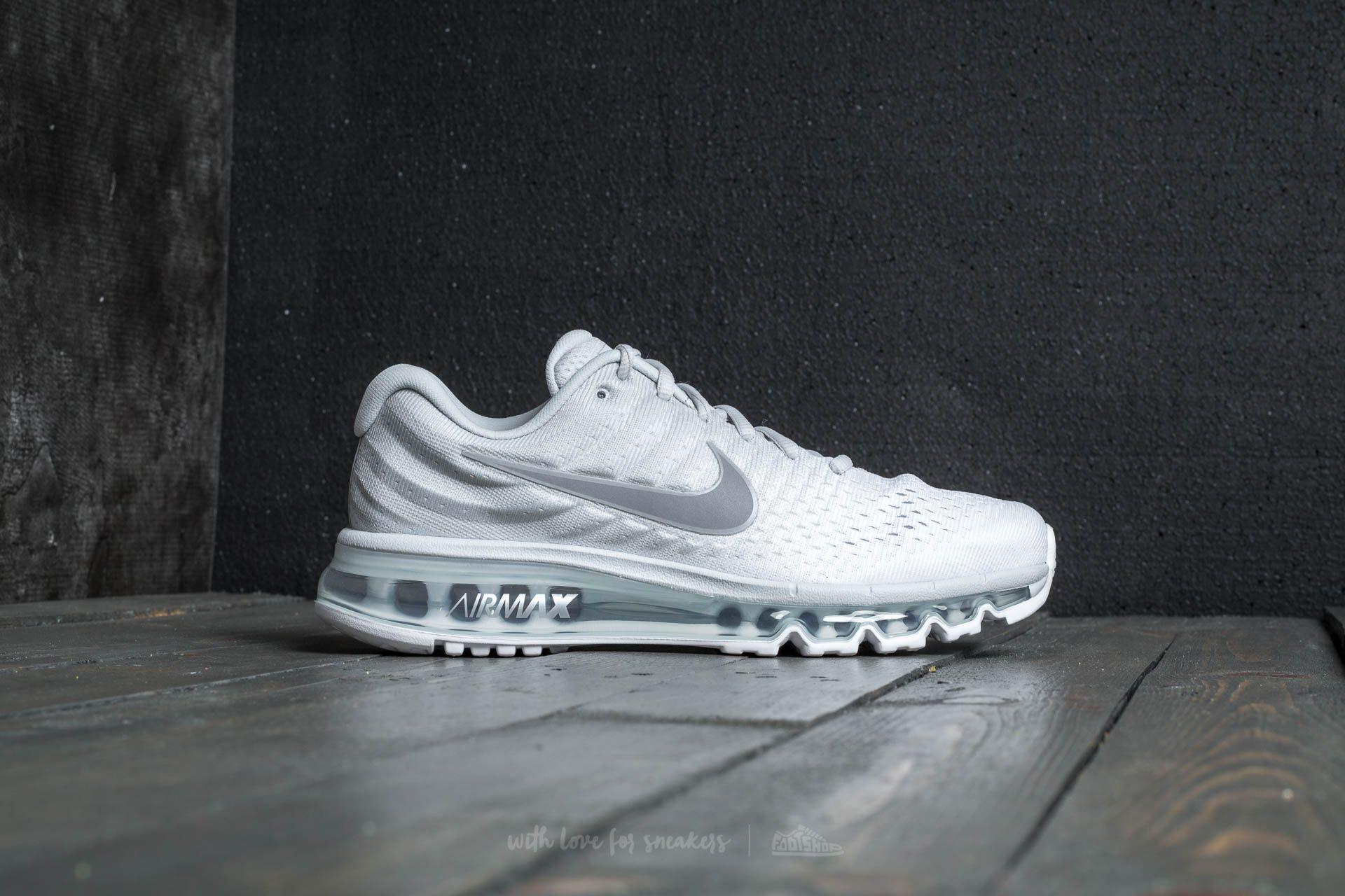 36dfb07f0292 Lyst - Nike Air Max 2017 Pure Platinum  Wolf Grey-white in Gray for Men