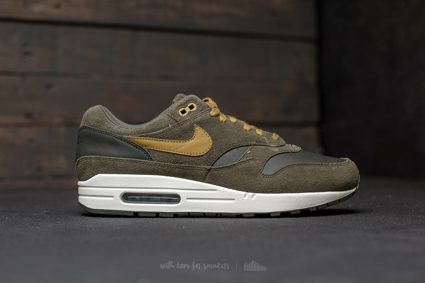 Nike - Multicolor Air Max 1 Premium Leather Sequoia/ Desert Moss for Men -  Lyst. View Fullscreen