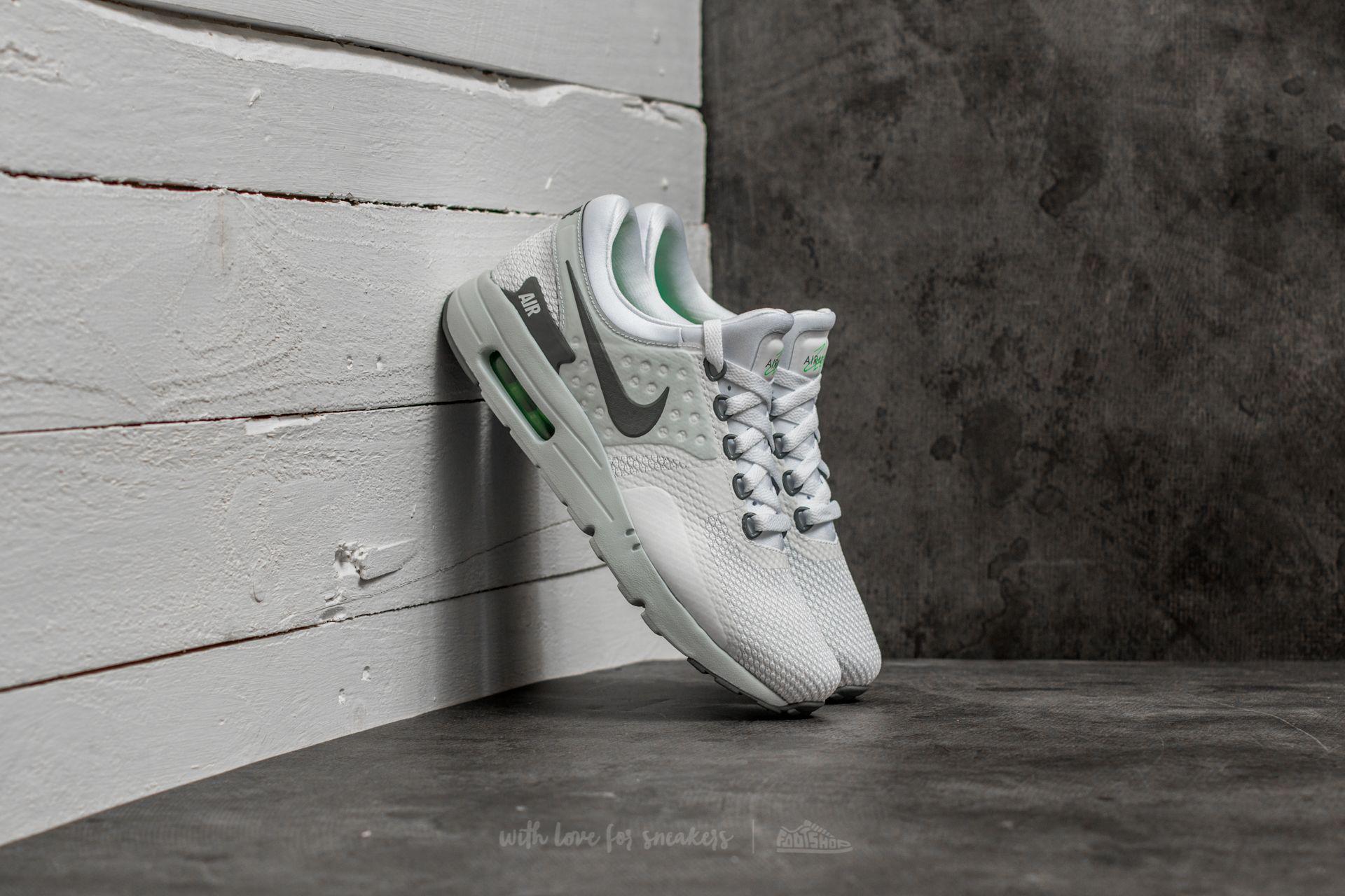 Lyst - Nike Air Max Zero Essential White  Cool Grey-pure Platinum in ... 1dc96b0a7