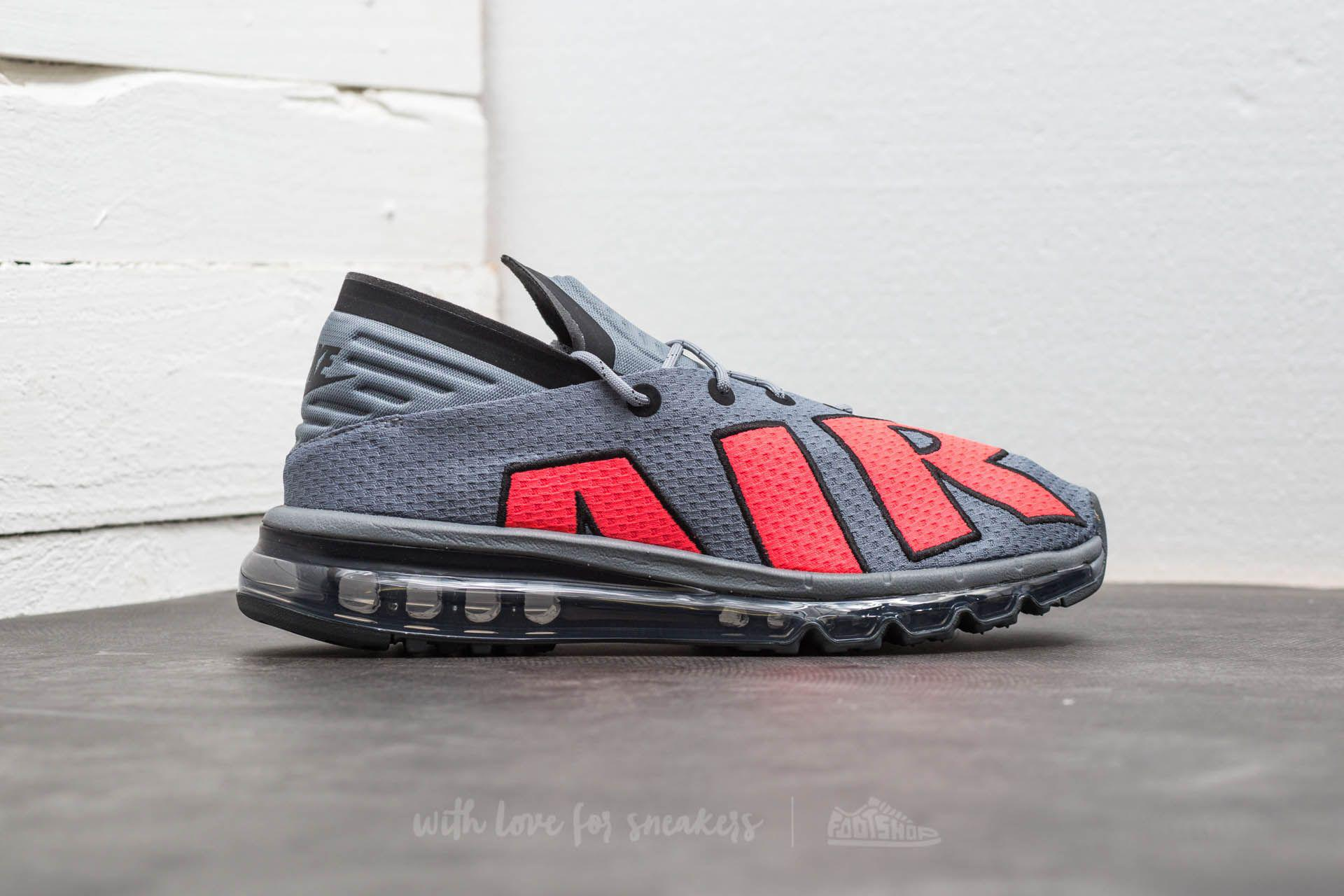 sneakers for cheap fe123 588fb ... coupon code for lyst nike air max flair cool grey solar red black in  gray for