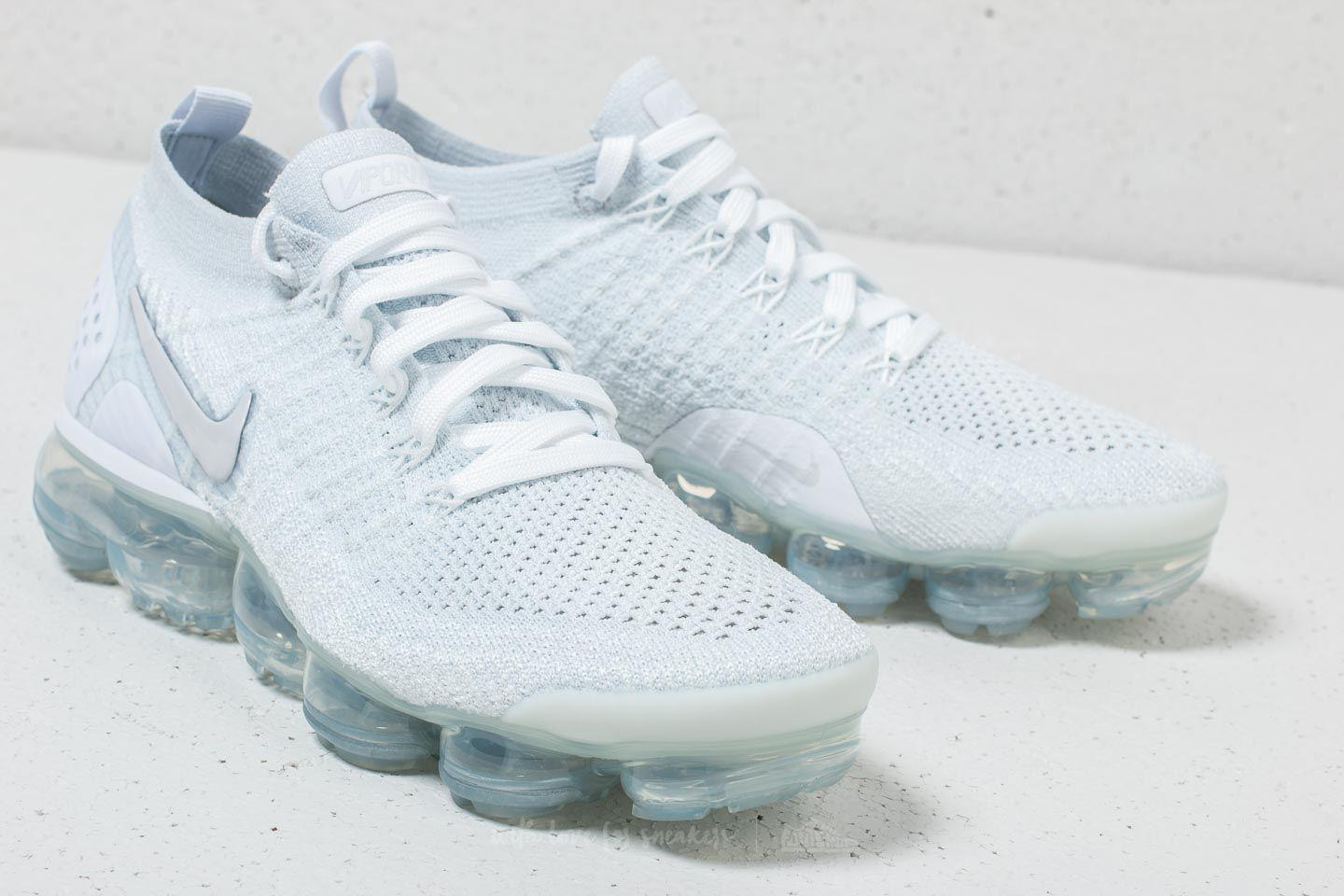 low priced free shipping so cheap Nike Rubber Air Vapormax Flyknit 2 W White/ White-vast Grey - Lyst
