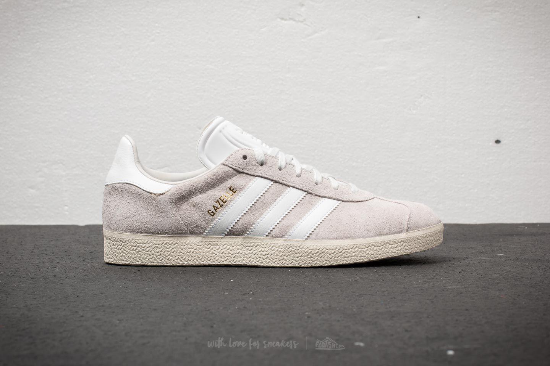 lyst adidas originals adidas gazelle kristall weiß / ftw white