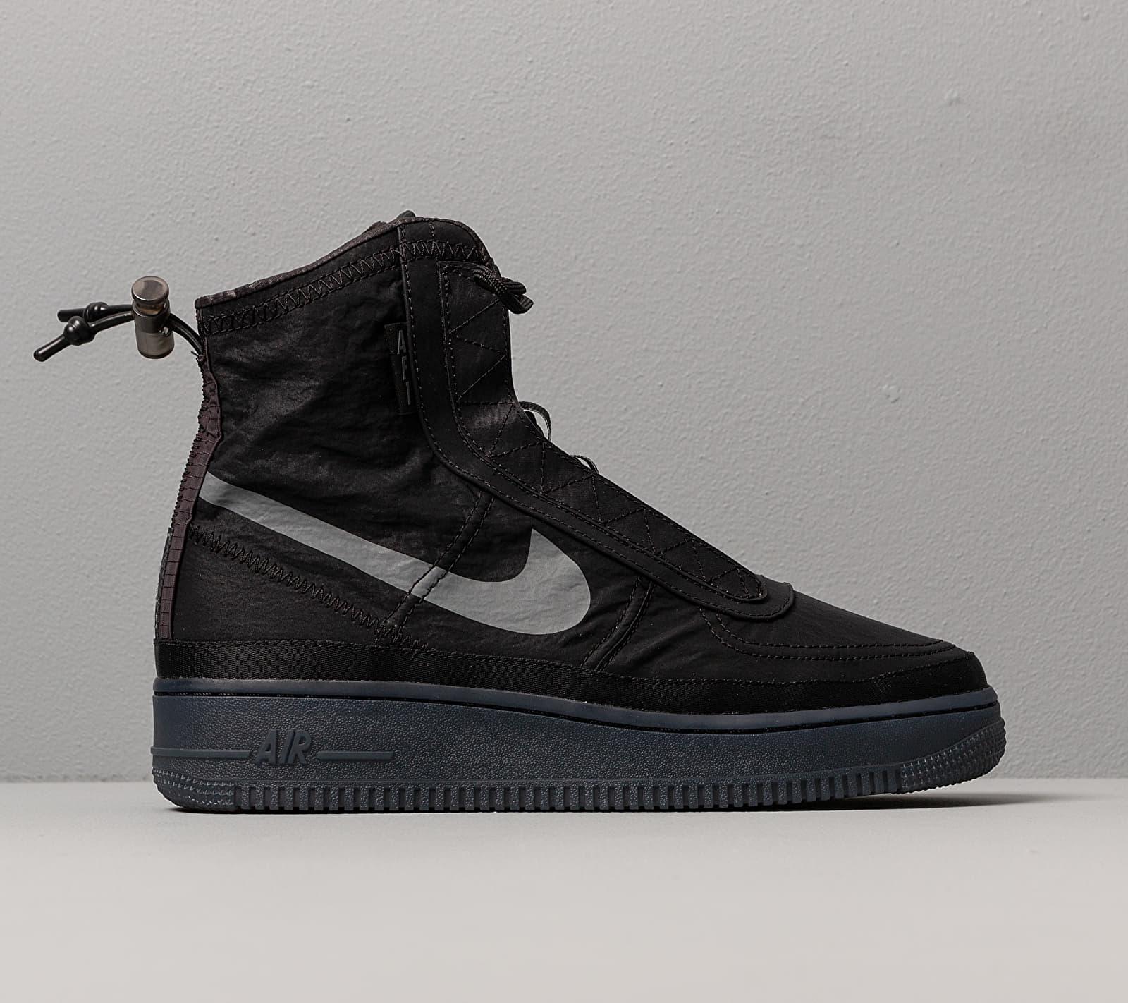 W Air Force 1 Shell Black/ Dark Grey-Black Nike