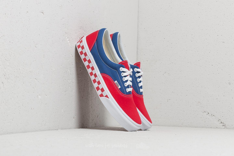 ad353637d3 Lyst - Vans Era (bmx Checkerboard) True Blue  Red in Red for Men