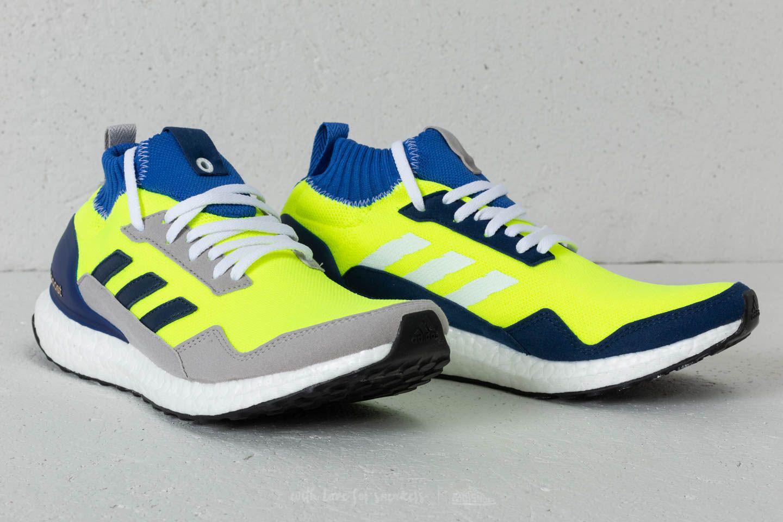 a51dd83f5a9f0 Lyst - adidas Originals Ultraboost Mid Solar Yellow  Hi-res Blue ...