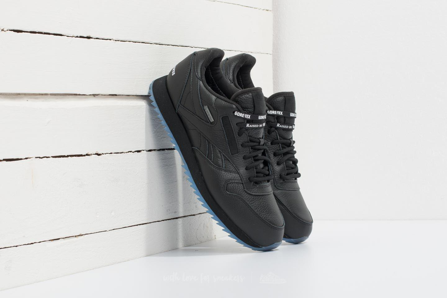 Reebok. Men s Reebok X Raised By Wolves Classic Leather Ripple Gore-tex  Black  White-ice 152d6f88c