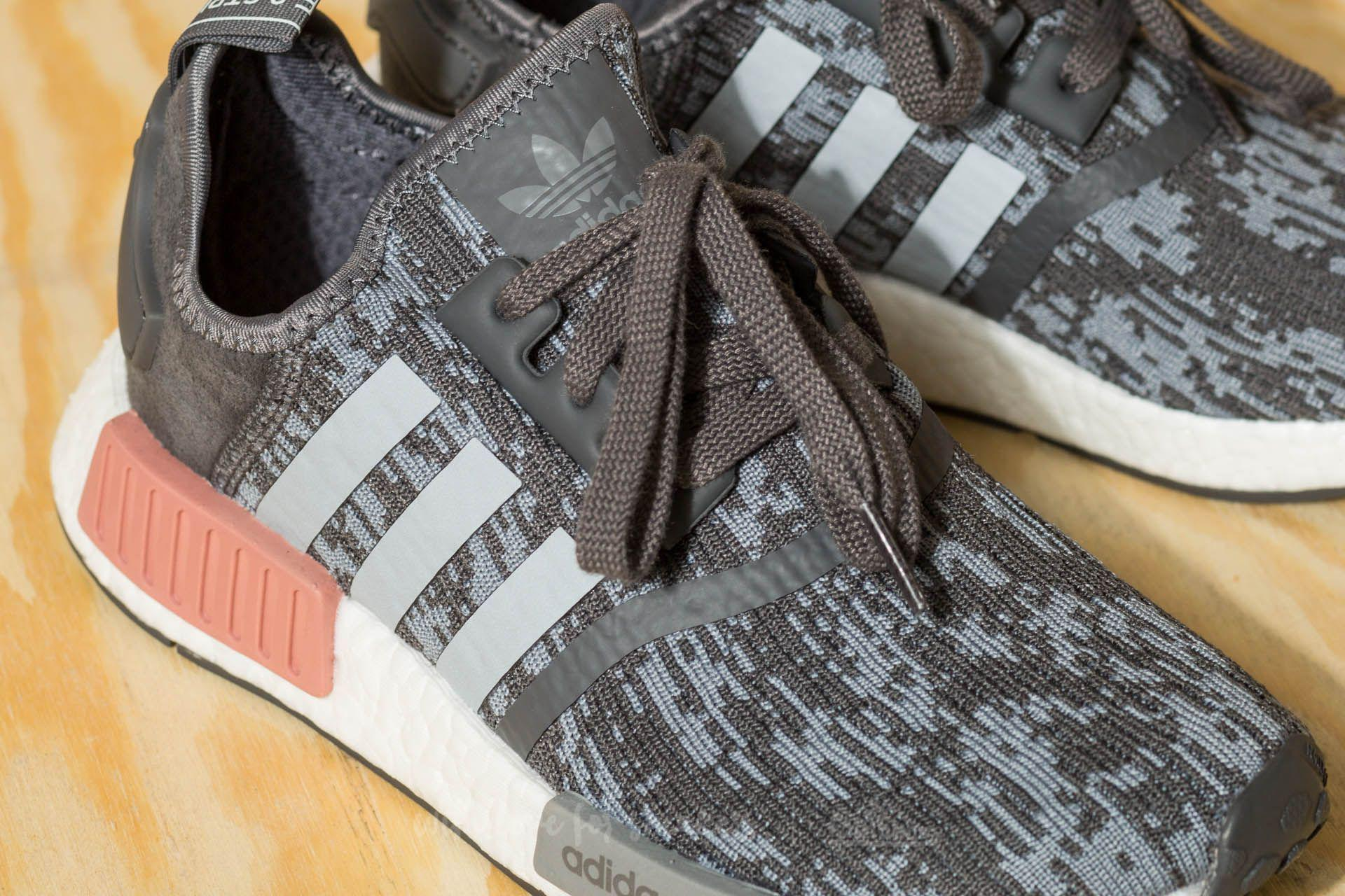 on sale 9acdb 873ce Men's Adidas Nmd_r1 Gray Five/ Gray Three/ Raw Pink