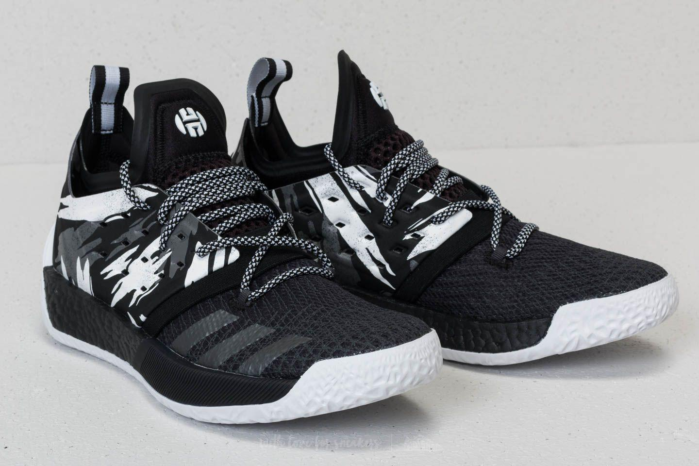 new arrival d944e 979ad Lyst Foot Adidas Harden Vol 2 Core Black White Grey For Men