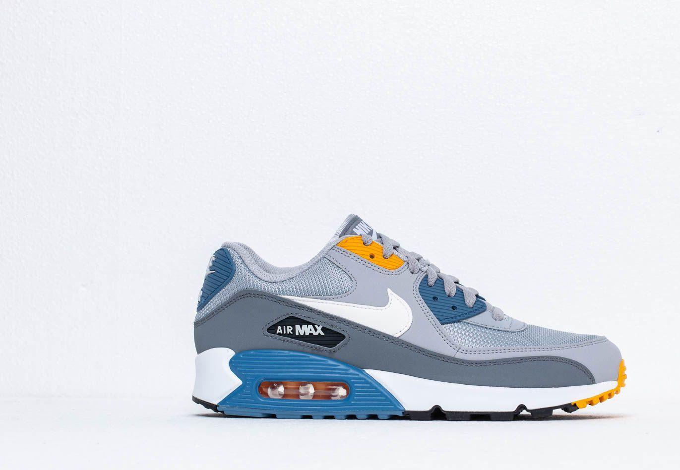 Nike Air Max 90 Wolf Grey White Indigo Storm | HYPEBEAST