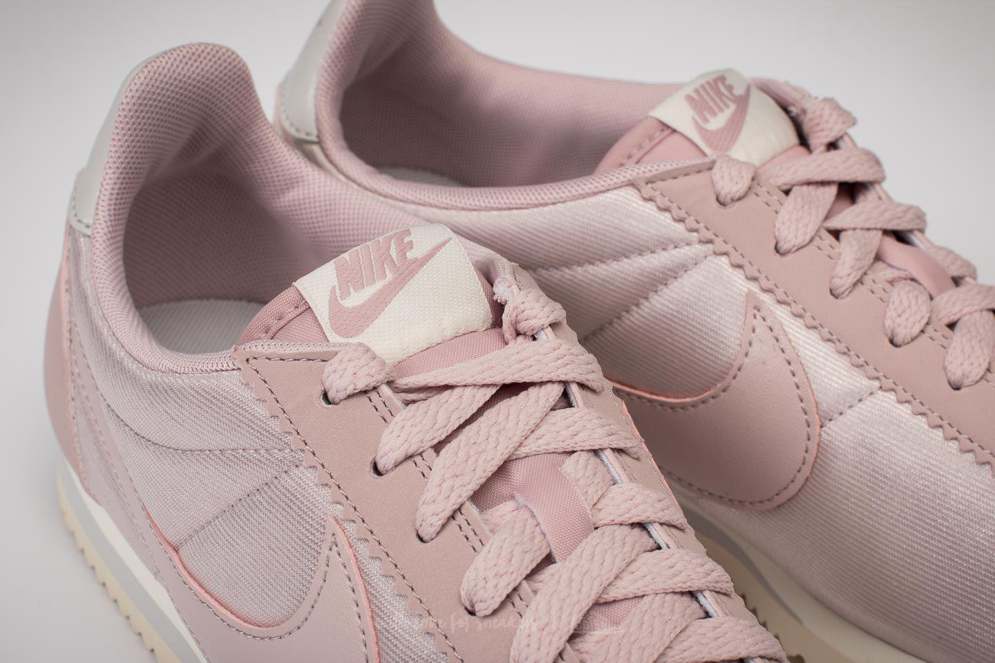 watch ac231 9ff1a Nike Wmns Classic Cortez Nylon Particle Rose  Particle Rose - Lyst