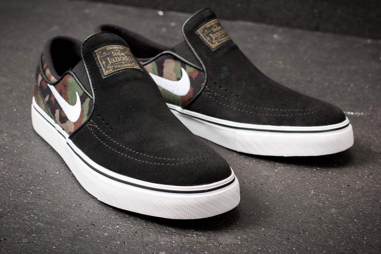ffe94fa89cfcf Lyst - Nike Zoom Stefan Janoski Slip-on Black  White-multi Color in ...