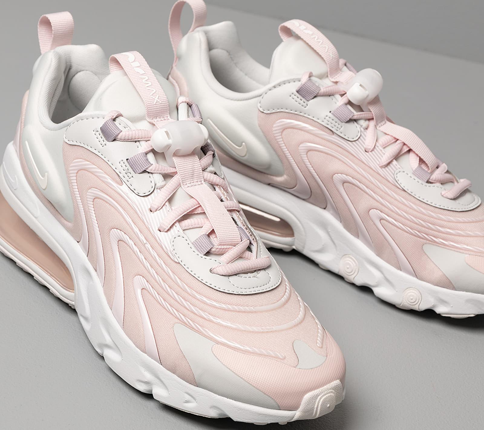 Nike W Air Max 270 React Eng Photon Dust Summit White Barely Rose
