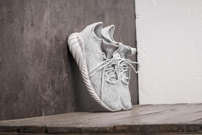 lyst adidas originali adidas tubulare doom sock primeknit grey due