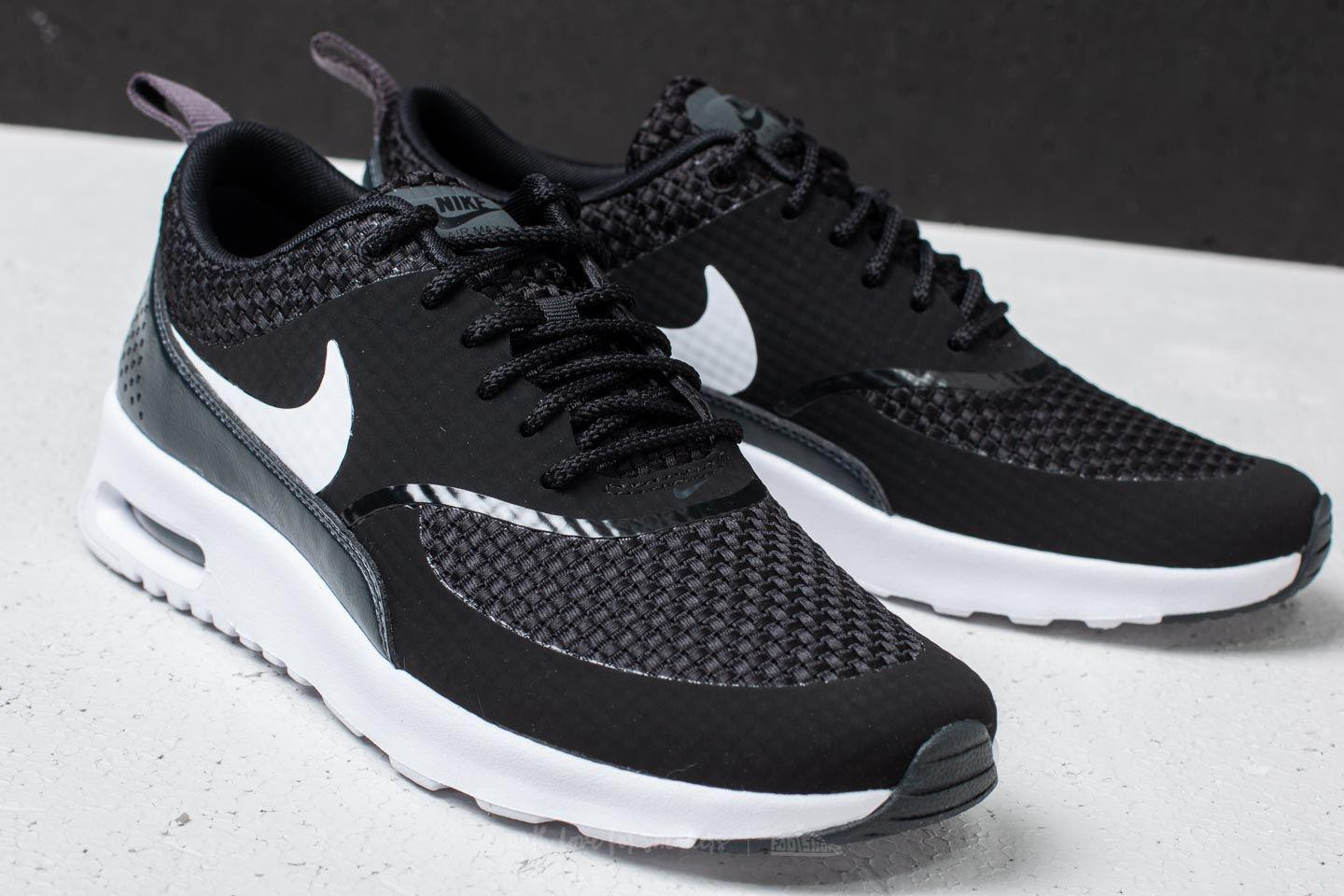 Women's Wmns Air Max Thea Premium Black White anthracite