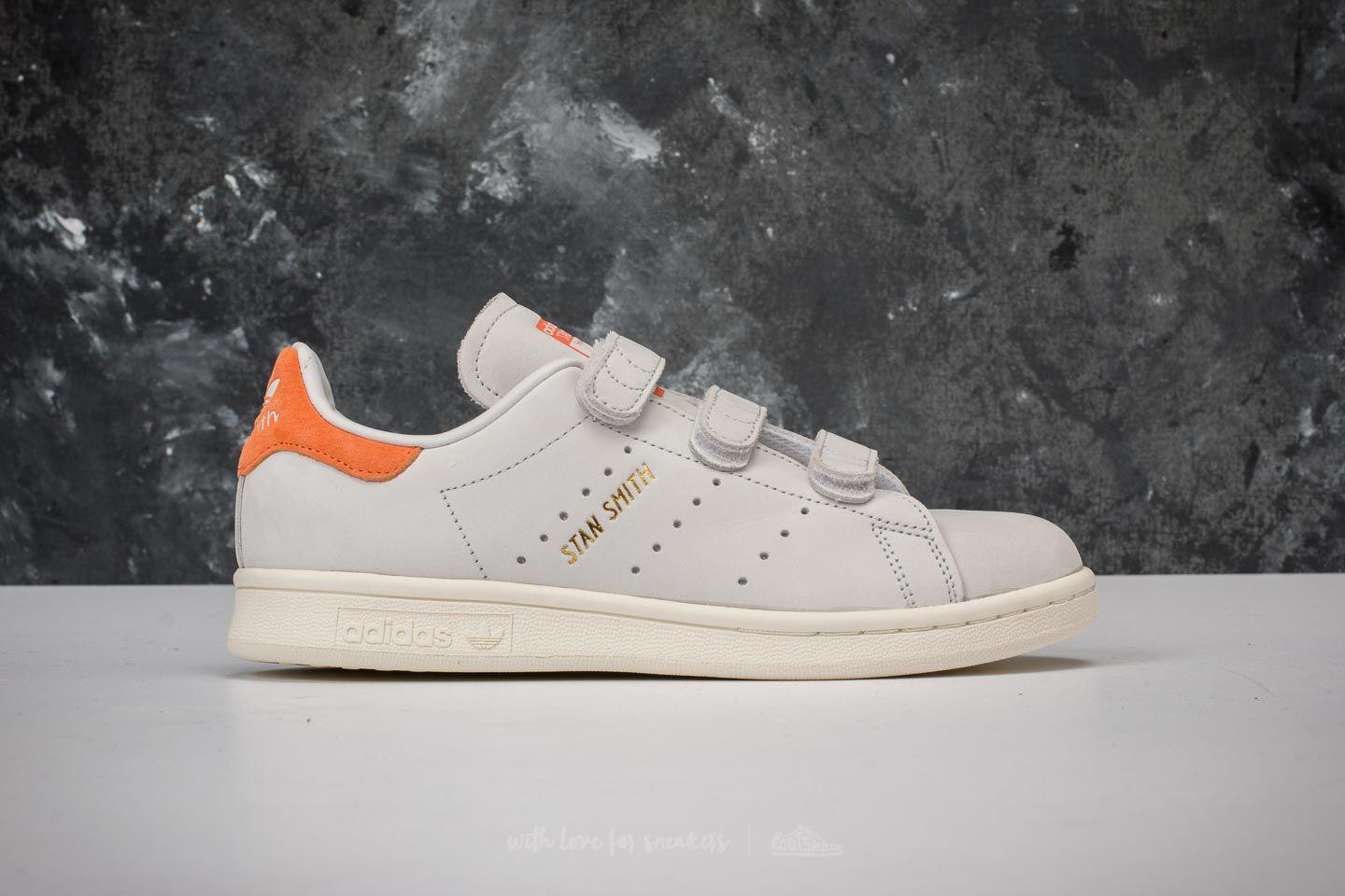 official recognized brands entire collection Adidas Stan Smith Cf W Crystal White/ Crystal White/ Trace Orange