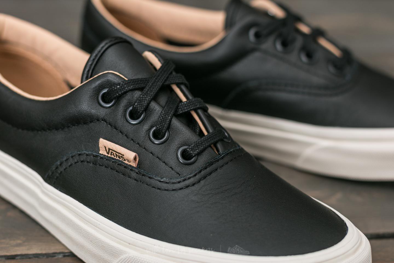 82fafce41c Lyst - Vans Era (lux Leather) Black  Porcini for Men