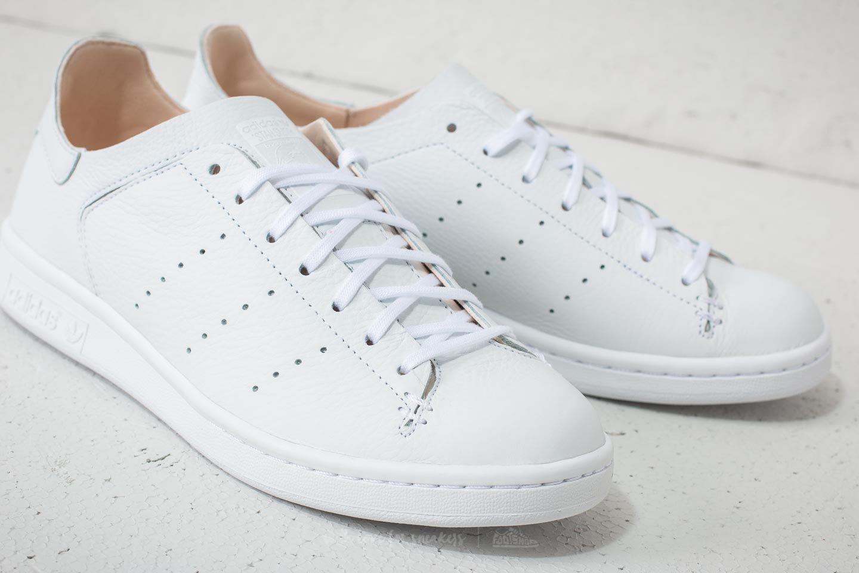best cheap de145 3bf58 Men's Adidas Stan Smith Leather Sock Ftw White/ Ftw White/ Ftw White