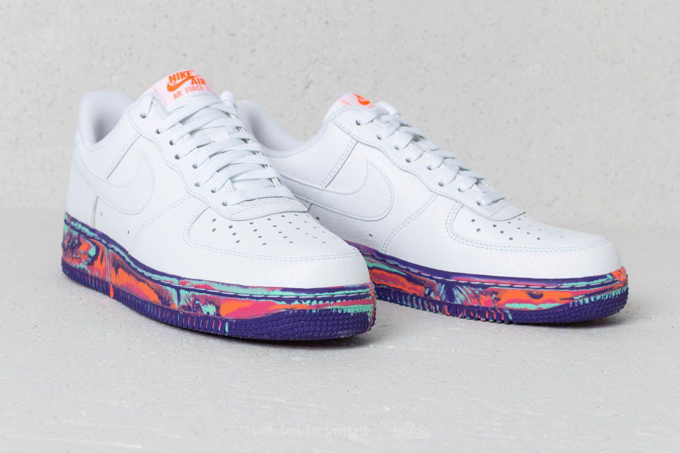 Air Force 1 '07 Lv8 Leather White White vast Grey