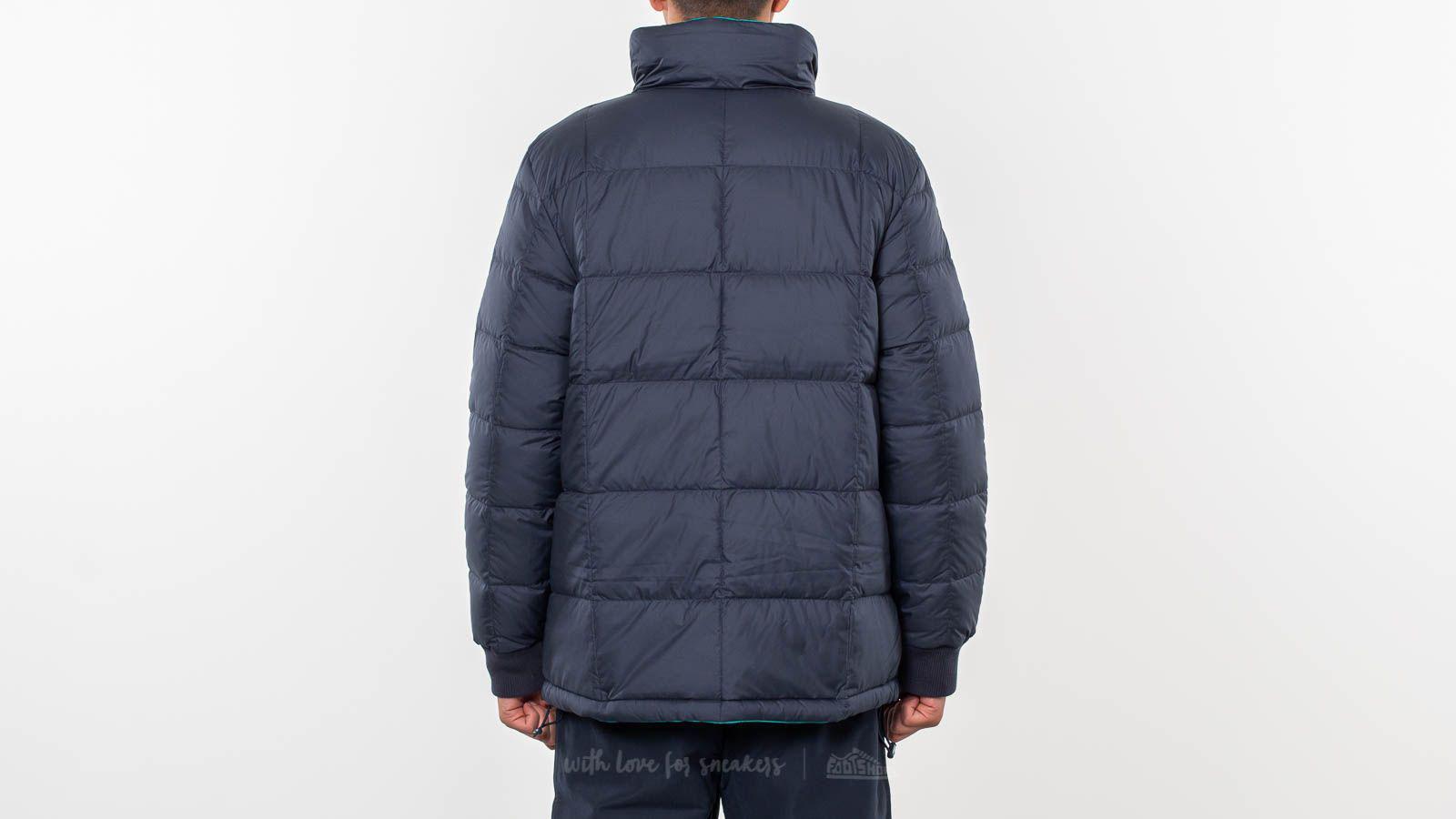 2ab3fc0aa6 Adidas Originals Blue Carnforth Reversible Puffer Jacket Night Navy/ Aero  Reef for men