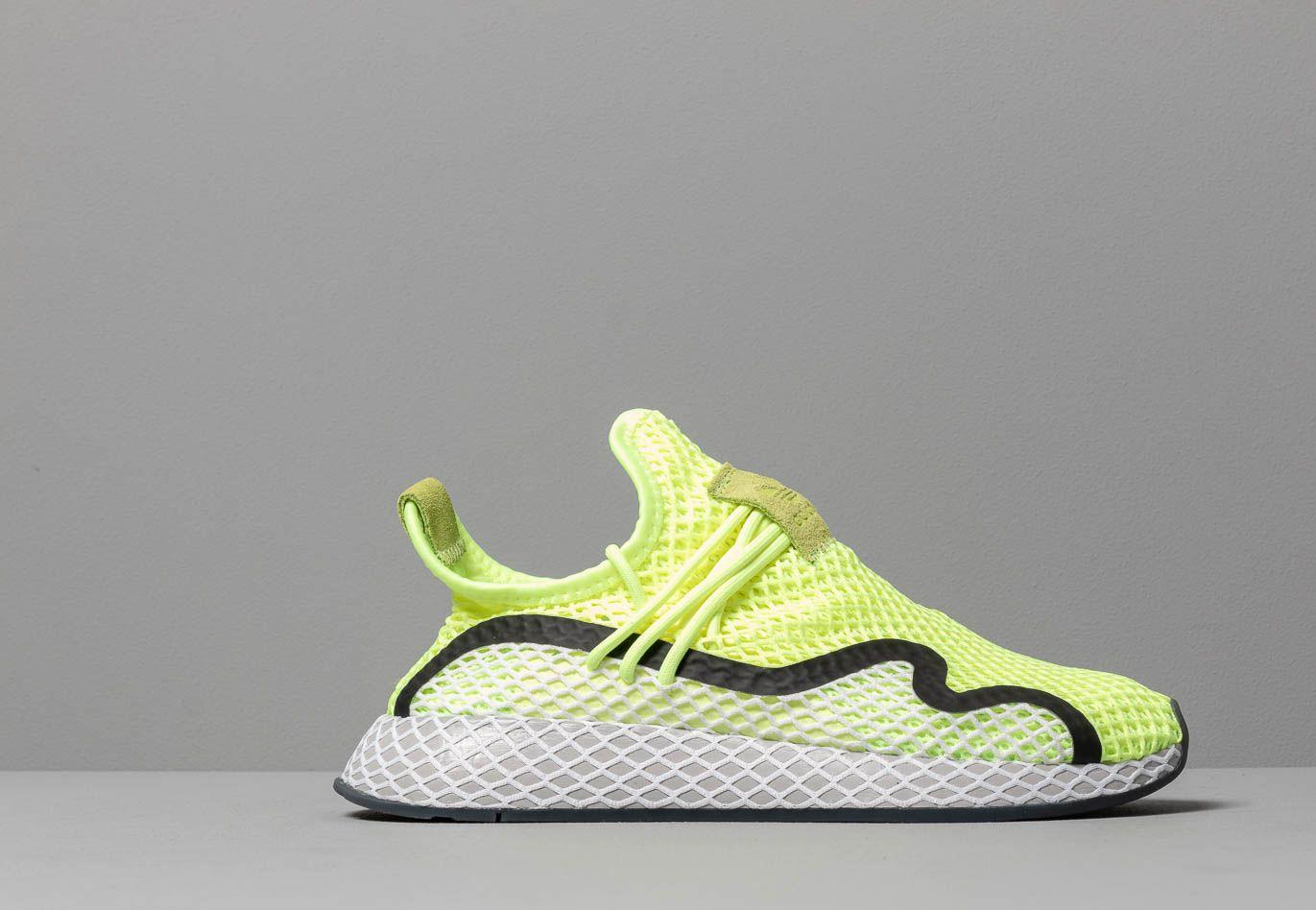 fd1a2626ca46c Adidas Originals - Adidas Deerupt S Hi-res Yellow  Core Black  Ftw White.  View fullscreen