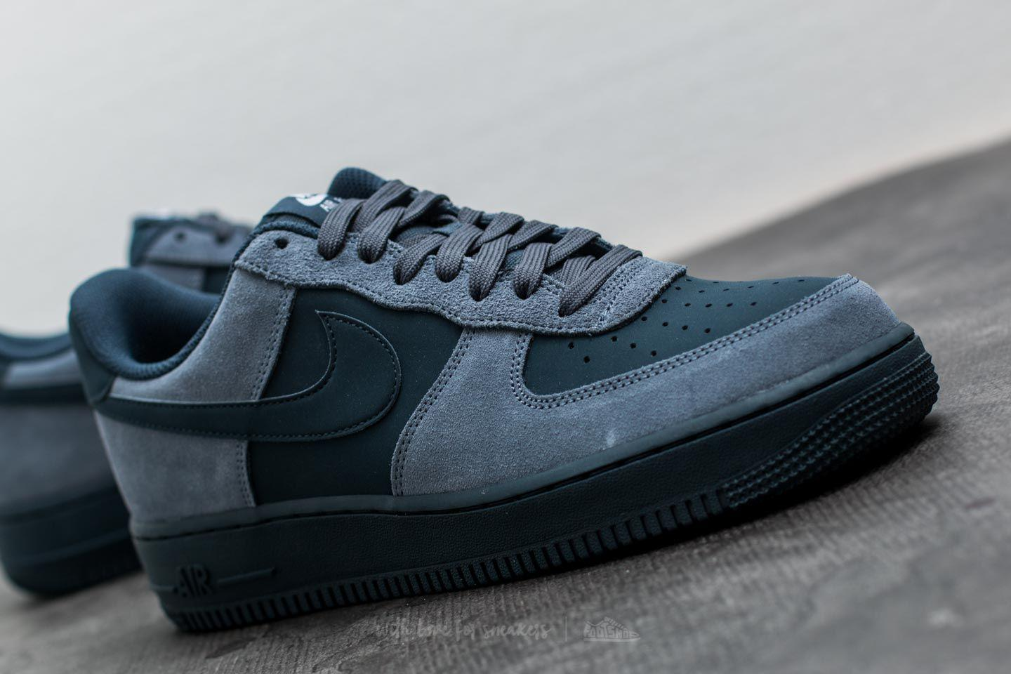 Nike Leather Air Force 1 Armory Blue/ Armory Navy-white for Men - Lyst