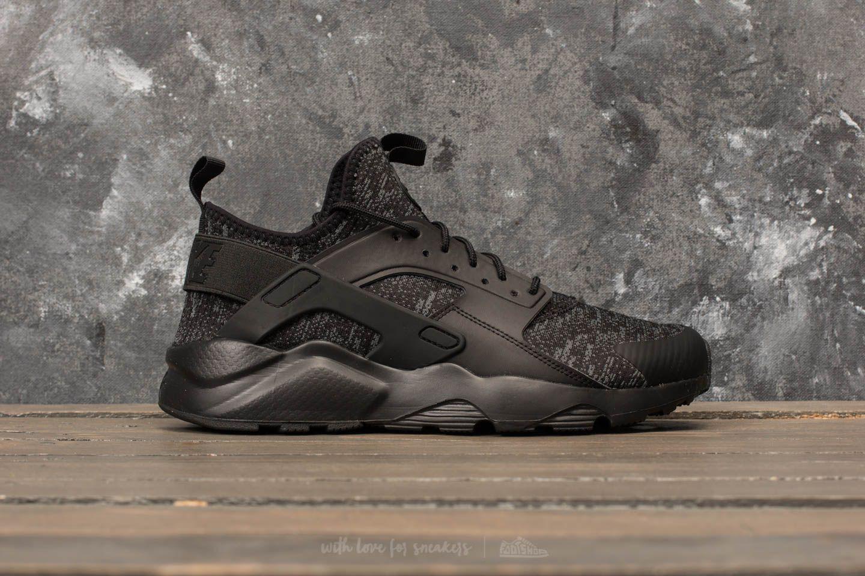 69fd291ed8e3a Lyst - Nike Air Huarache Run Ultra Se Black  Black-dark Grey in ...