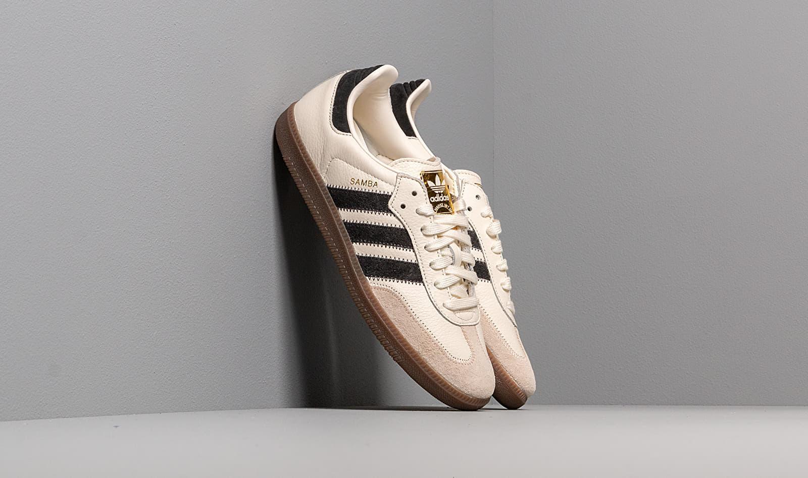 adidas Samba OG FT (Off White Carbon Linen)