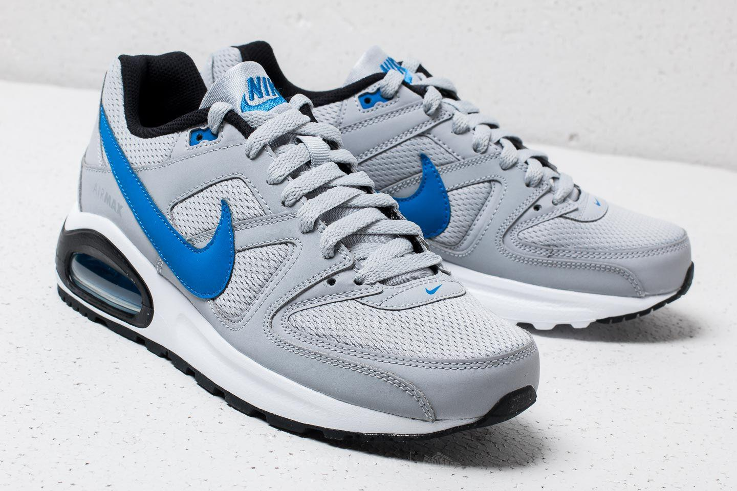 Buy Nike Air Max Command wolf greysignal blueblack from