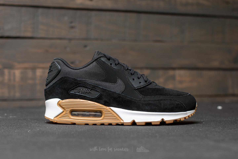Nike Wmns Air Max 90 SE (Black Black Gum Light Brown White)