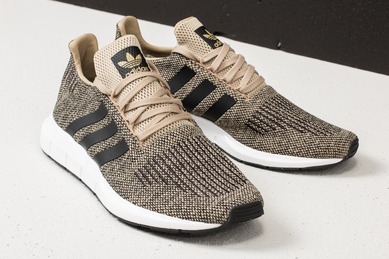 Adidas Swift Run GoldCore BlackFtw White Shoes
