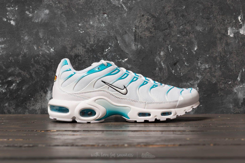 sports shoes 791ed b9dab Nike Air Max Plus White/ White/ Light Blue Fury for men
