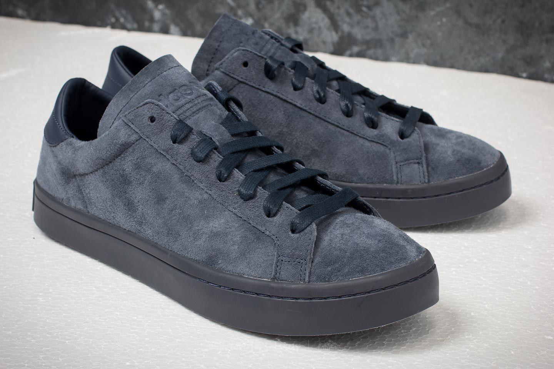 Lyst - adidas Originals Adidas Court Vantage Trace Blue  Trace Blue ... 984992522