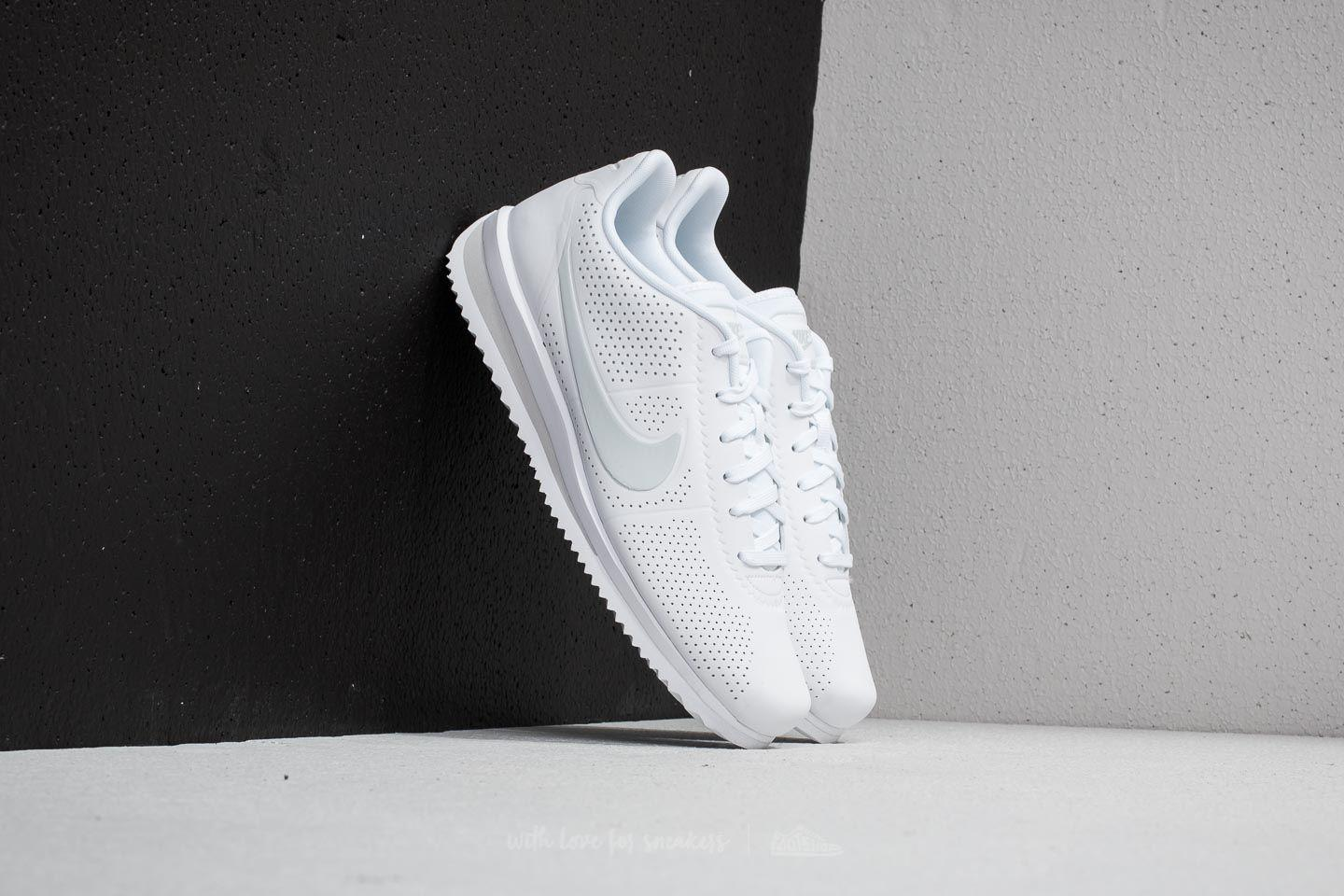 new product 8b5b3 8a8f1 Nike Cortez Ultra Moire White/ Pure Platinum in White for Men - Lyst