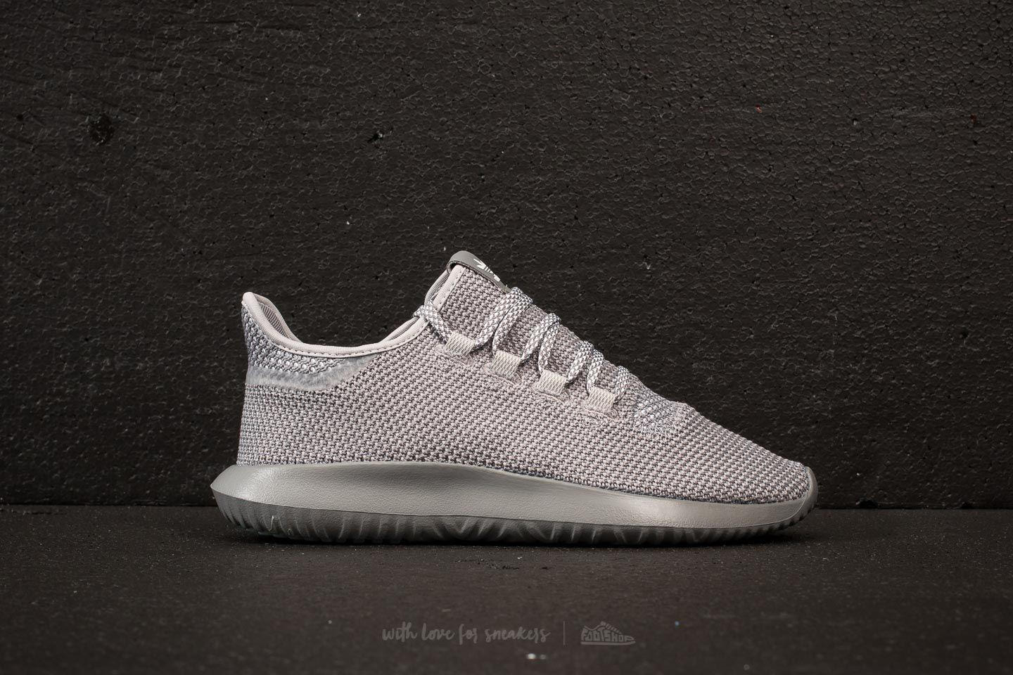 adidas Adidas Tubular Shadow Primeknit Core / Ftw White/ Grey Three phCVqo85
