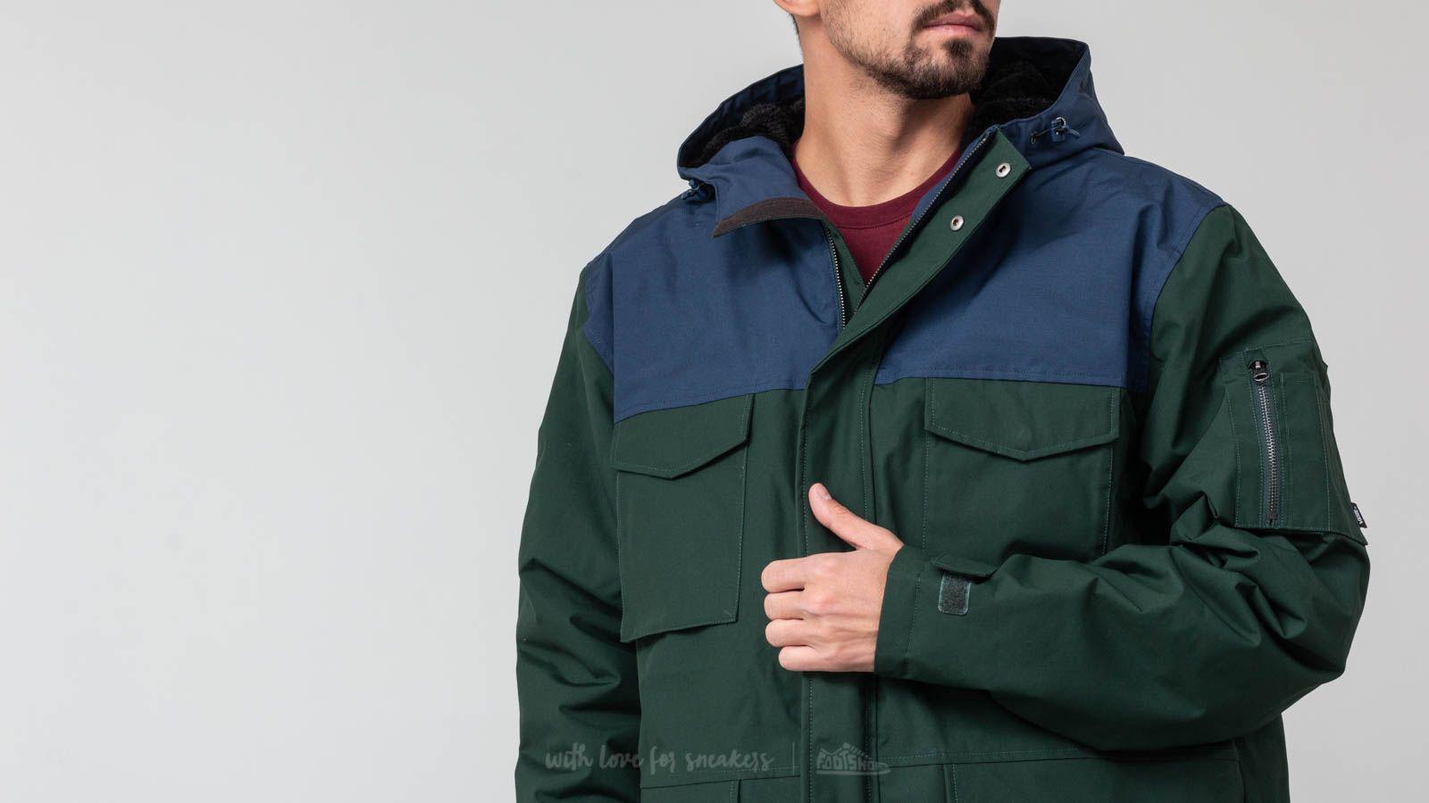 7c5766060f Mountain Lyst In Edition Spruce Green Vans Jacket Darkest Revere EqwvEx0r