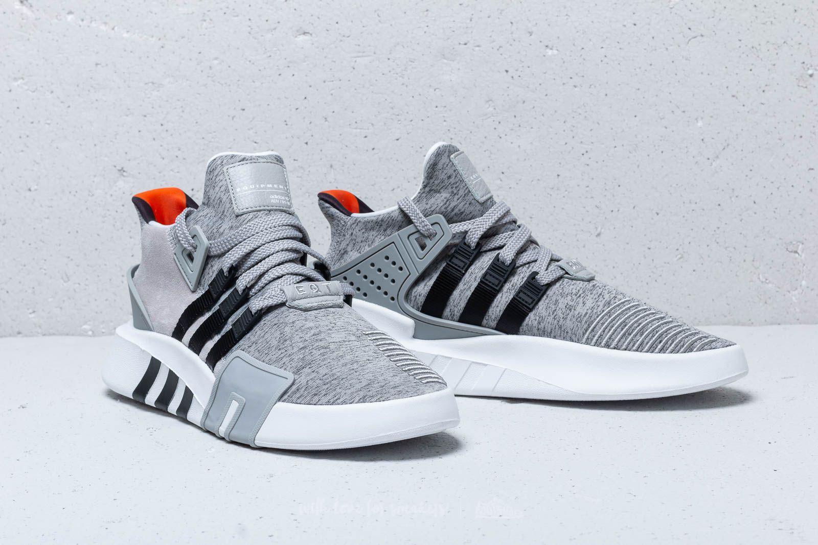 Adidas Eqt Bask Adv Grey Two/ Core Black/ Ftw White