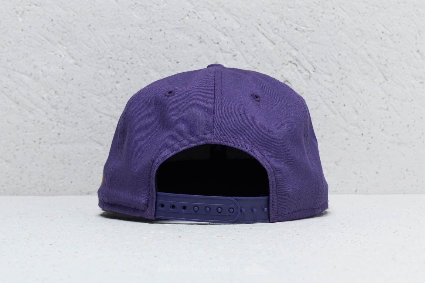 a95ff865abf Lyst - KTZ 9fifty Nba Los Angeles Lakers Cap Purple in Purple for Men