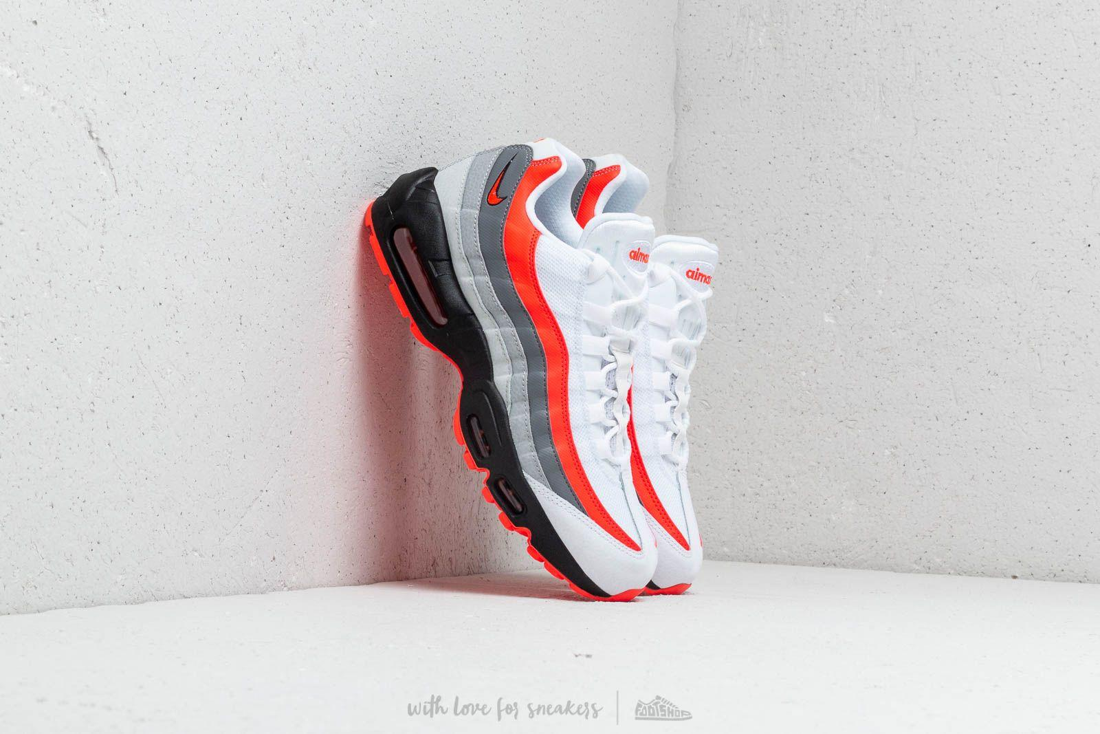 Nike Air Max 95 Essential Black White Sequoia | Footshop