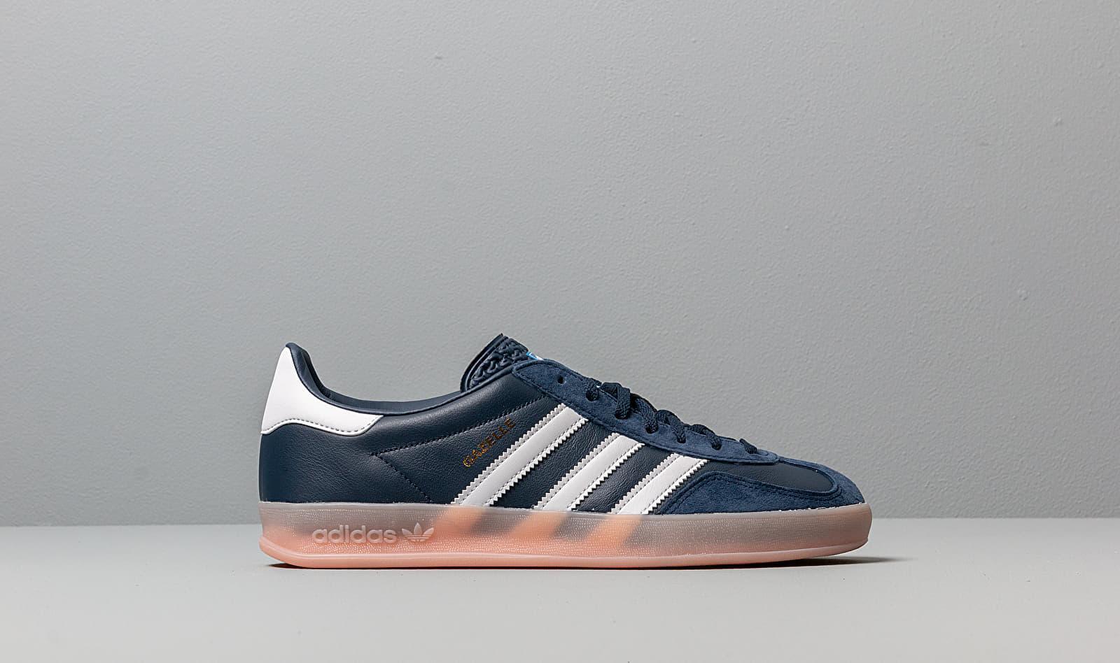 Adidas Gazelle Indoor Collegiate Navy/ Ftw White/ Vapor Pink ...