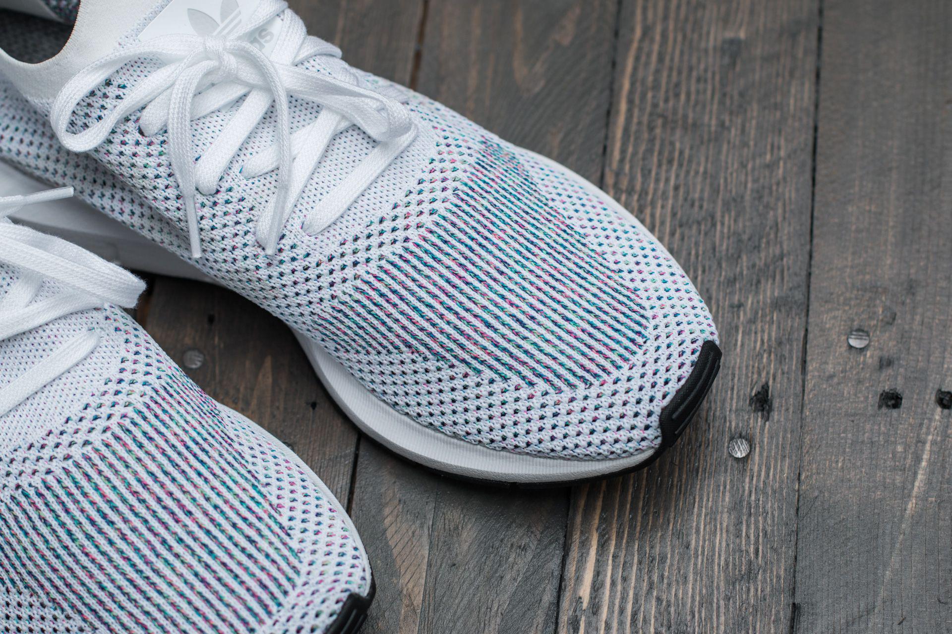 86a34778479cf Lyst - adidas Originals Adidas Swift Run Primeknit Ftw White  Grey ...