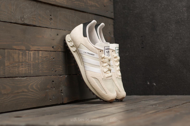 le dernier bac97 c31c5 Adidas Originals Adidas La Trainer Og Off White/ Ftw White/ Gum for men