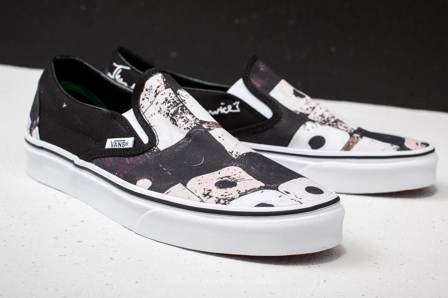 470a8cadd2d Lyst - Vans Classic Slip-on (a Tribe Called Quest) Black in Black ...