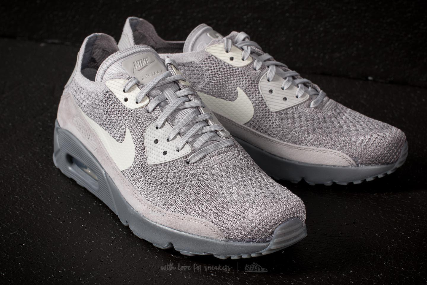 newest f6251 f7156 Gallery. Previously sold at  Footshop · Men s Nike Flyknit Men s Air Max 90  Sneakers